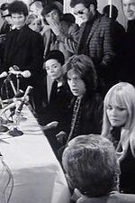 Mick Jagger Fronts the Australian Press 1969