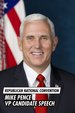 Republican National Convention: Mike Pence VP Candidate Speech